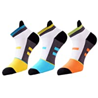 VaCalvers Men's Multicolour Cotton Socks (Multicolour, Free Size) - Pack of 3