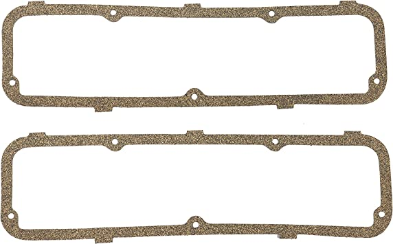 Comet Colony Park Lincoln Caliente Cougar Continental Country Sedan Capri Commuter Country Squire Mercury // 300 DNJ VC4112 Valve Cover Gasket Set for 1962-1990 // Ford Custom Bronco