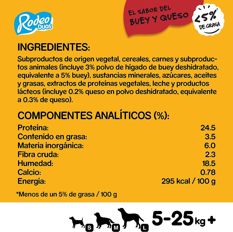 Pedigree Rodeo Duos Snack en Tiras para Perros sabor Queso y ...