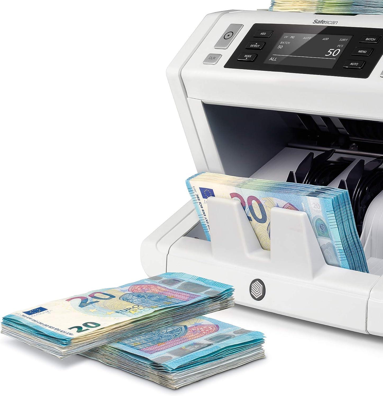 Detectores de billetes falsos: comparativa 2021
