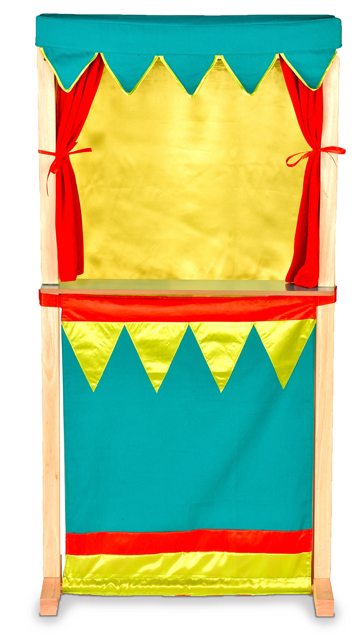 Puppet Theatre - Standing Or Table Top - Switch From Traditional Theatre Show To Market Shop.