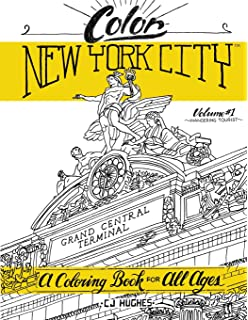 color new york city volume 1 wandering tourist a coloring book for all - Abbi Jacobson Coloring Book