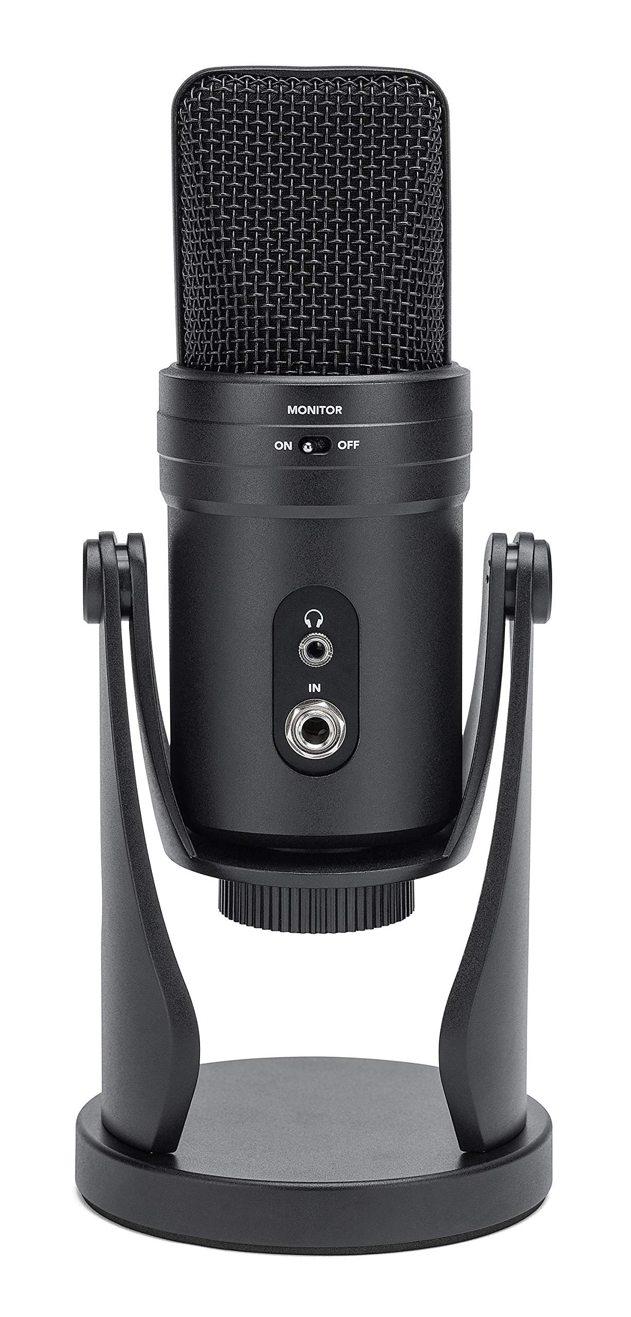 Samson G-Track Pro USB Condenser Microphone for Voiceovers, Podcasting, Vocal and Instrument Recording Bundle with Blucoil 3-FT USB 2.0 Type-A Extension Cable, and Boom Arm Plus Pop Filter