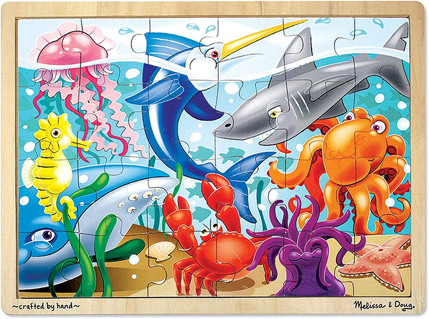 Under the Sea Wooden Jigsaw Puzzle