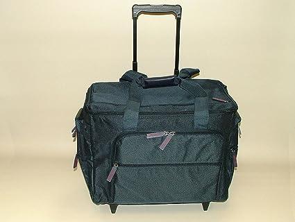 Deluxe nuevo azul marino para máquina de coser maleta de funda bolsa