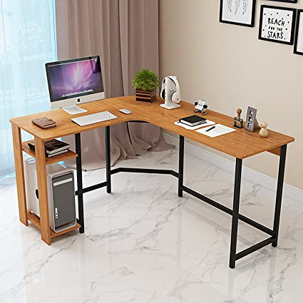 Jerry U0026 Maggie   L Shaped Office Desk Computer Desk Table Personal Working  Space Lapdesk Corner