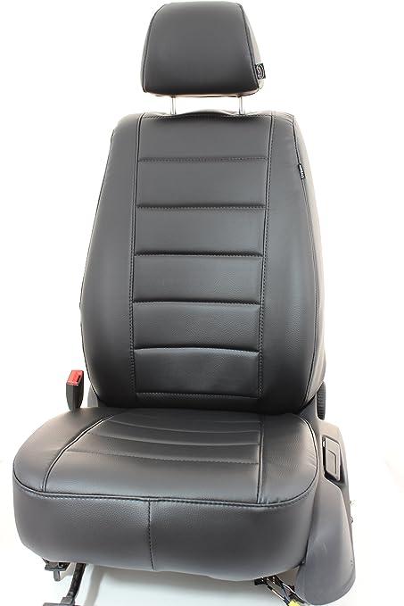 1+1 elegante AUTO COPRISEDILE COPRISEDILI GRIGIO ECOPELLE rivestimenti comfort