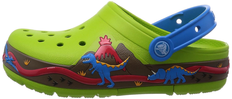 Crocs Lights Dinosaur Ps, Sabots Garçon