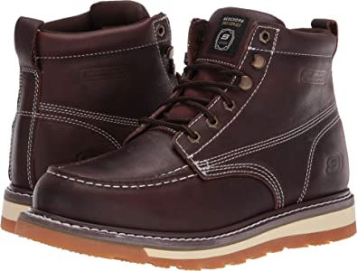 8893f3aec7e9 Skechers Work Men s Boydton Red Brown 7 ...