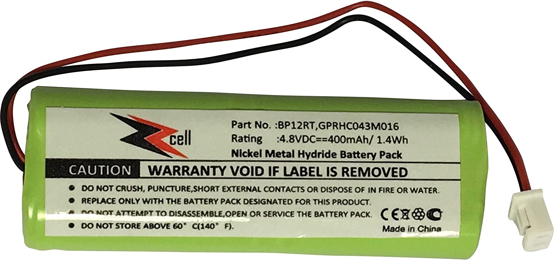 ZZcell Battery for Dogtra Transmitter BP12RT, 200NC, 200NCP, 202NCP, 280NCP, 282NCP, 1900NCP, 1902NCP, 300M, 302M, 7000M, 7002M, 7100H, 7102H, 7100, 7102, 1100NC, 2000B, 2000200NC Dog Collar