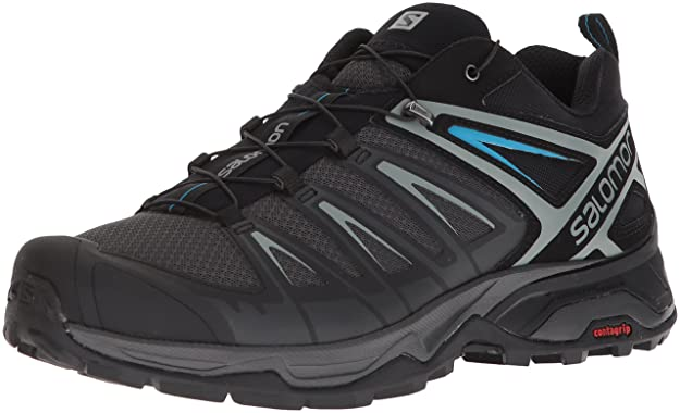 Salomon Men's X Ultra 3 Trail Running Shoe, Phantom, 13 M US