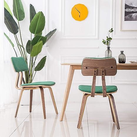Amazon.com: YEEFY sillas de comedor tapizadas sillas de ...