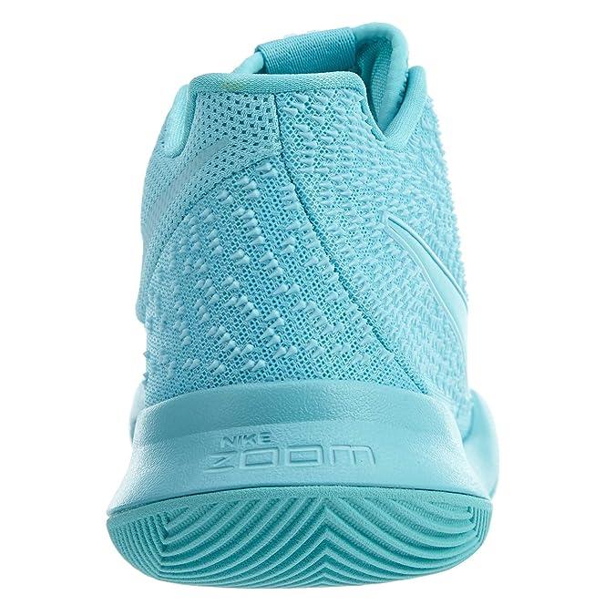 ... hot product 1d761 79c58 Amazon.com Nike Kyrie 3 Mens Style 852395-401  Size  cheapest 62a8c 9d86d Nike KYRIE III 3 Mens Black Aqua White Basketball  Shoes ... bac9c3778