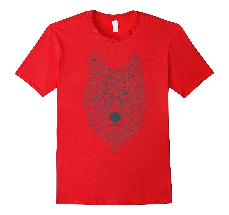 Wolf Head T Shirt Tshirt for men women boys girls kids-Art
