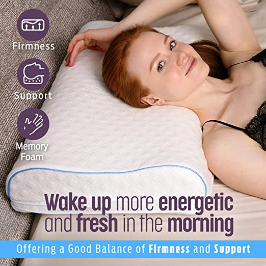 Aeris Memory Foam Contour Pillow