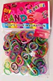 300 COLOURFUL CANDY SCENTED LOOM RUBBER BANDS
