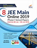 8 JEE Main Online 2019 Phase I Solved Papers (Held b/w 9th Jan - 12th Jan 2019) with Free 5 Online Tests