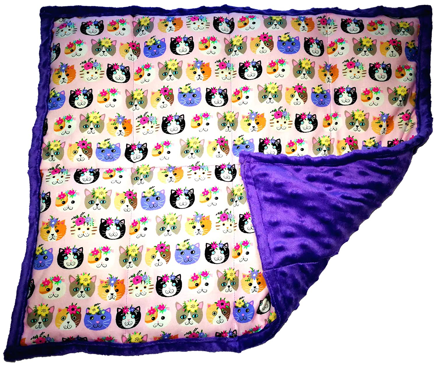 ReachTherapy Solutions Tickled Pink 3 lbs Weighted Lap Pad for Kids Click to See More Colors /& Sizes Portable Lap Blanket for School