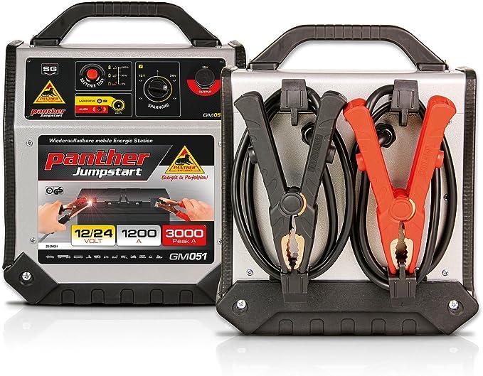 Panther Jumpstart Gm051 12 V 24 V 3000 A Booster Mob Starthilfe Für Auto Pkw Auto