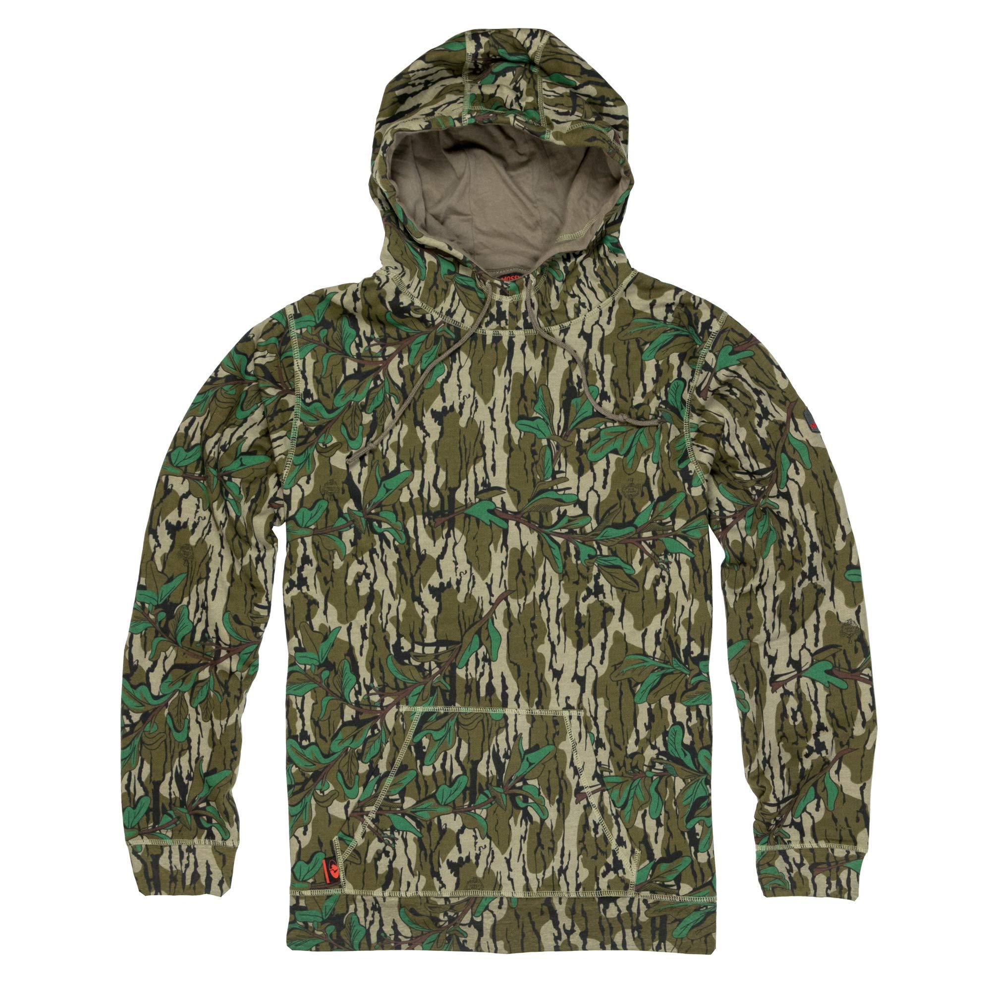 Mossy Oak Camo Hoodie for Men Hunting Hoodies Vintage