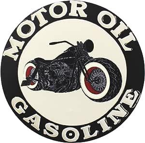 Finest-Folia UG 1x Gasolina Oil Old School Motorcycles Adhesivos Cafe Racer Retro # 13
