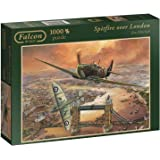 Falcon Games Spitfire over London Jigsaw Puzzle (1000-Piece)