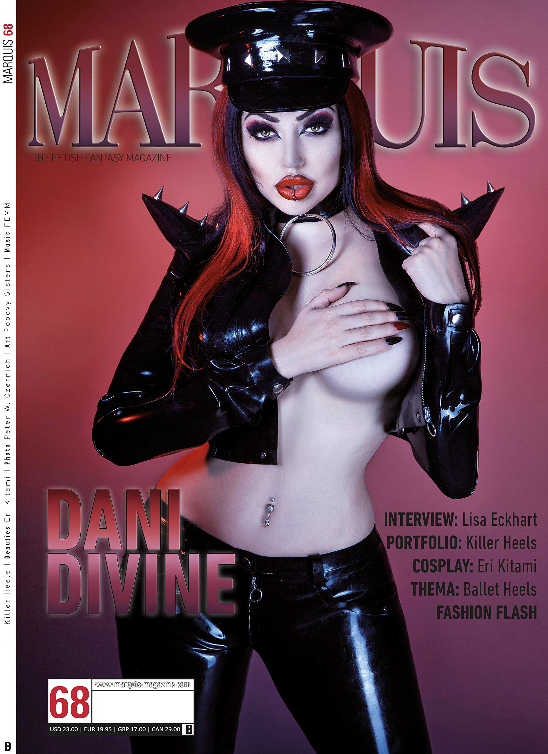 Magazin Marquis Nr. 68 (u.a. Eri Kitami in Kurage Latex)