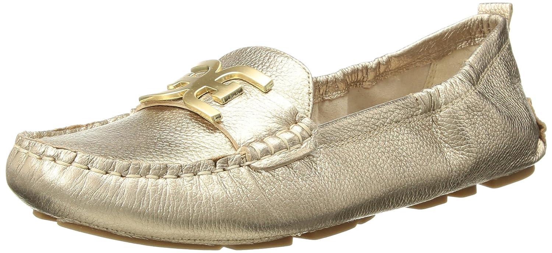 Dark Molten or or Metallic Leather Sam Edelman Femmes Farrell Chaussures Loafer  authentique