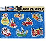 Mickey Mouse & Friends Vehicles Wooden Sound Puzzle