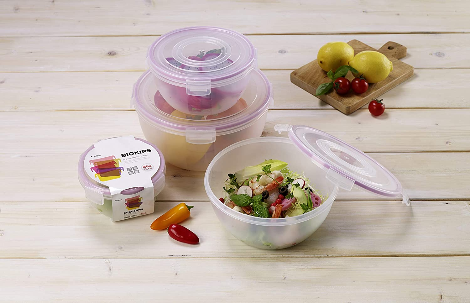 Plastic Storage Mixing Bowls With Lids
