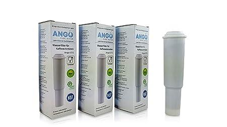 Cartuchos de filtro de agua para cafeteras automáticas Jura Claris ...