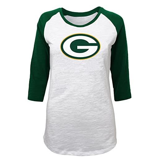 5ace5f59 Outerstuff NFL Juniors 0-17 3/4 Scoop Raglan Tee