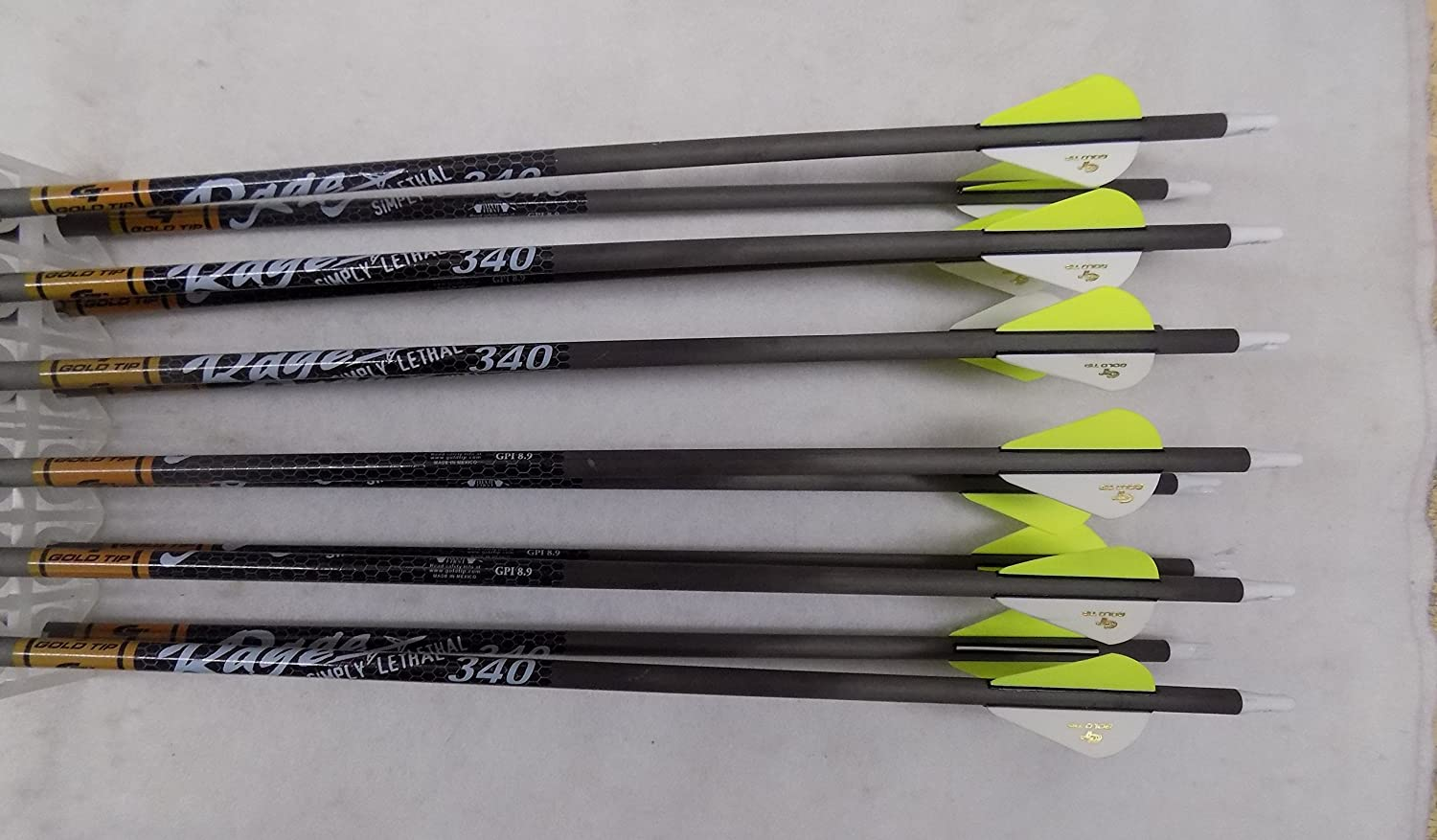 340 Shafts 1dz Gold Tip Hunter