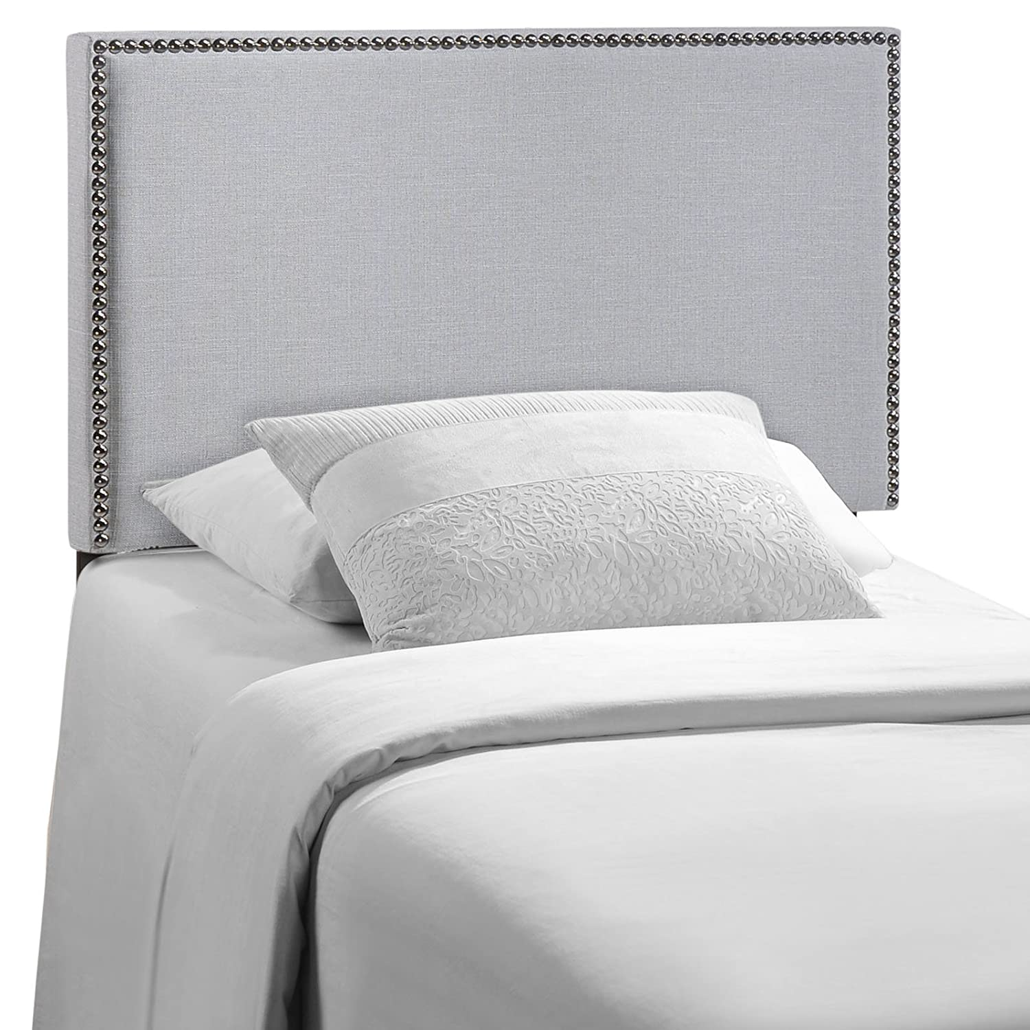 Modway Region Upholstered Linen Headboard Twin Size With
