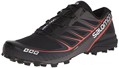 innovative design 4854c 51aa6 Salomon S-Lab Speed, Chaussures de Trail mixte adulte, Multicolore (Black