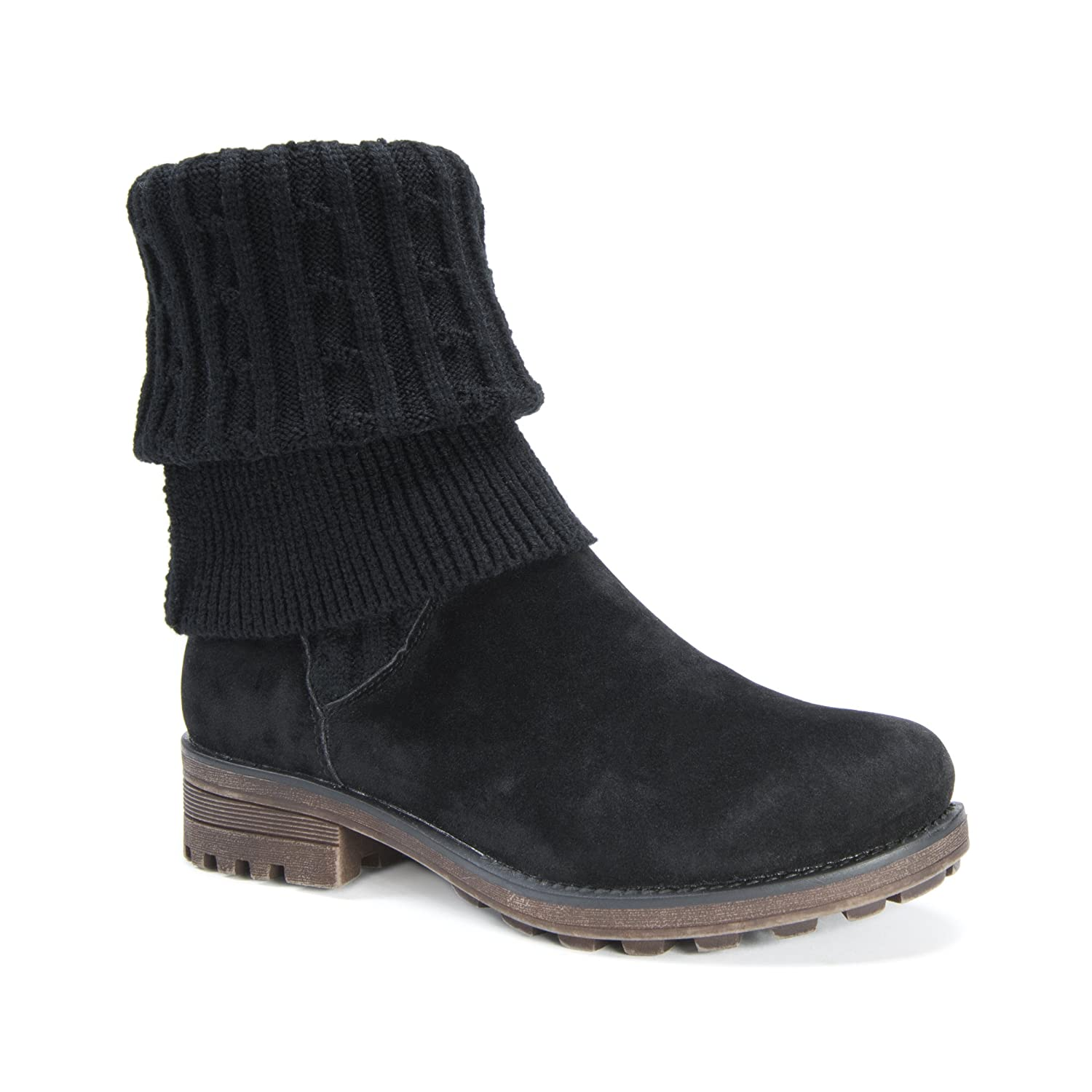 MUK LUKS Women's Kelby Fashion Boot B01LML1PE0 9 B(M) US|Black