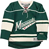 794f99e0b Detroit Red Wings White Vintage CCM 1926 Classic NHL Jersey.  120.00.  Minnesota Wild Alternate Green Reebok Premier Youth Jersey