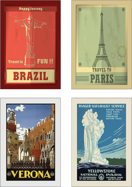 20 Cartoline da Viaggio/diverse Vintage//Retr/ò