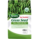 Scotts Turf Builder Grass Seed Tall Fescue Mix, 40 lb. - Full Sun and Partial Shade - Resists Heat and Drought, Insects, Dise