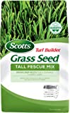 Scotts Turf Builder Grass Seed Tall Fescue Mix, 20 lb. - Full Sun and Partial Shade - Resists Heat and Drought, Insects…