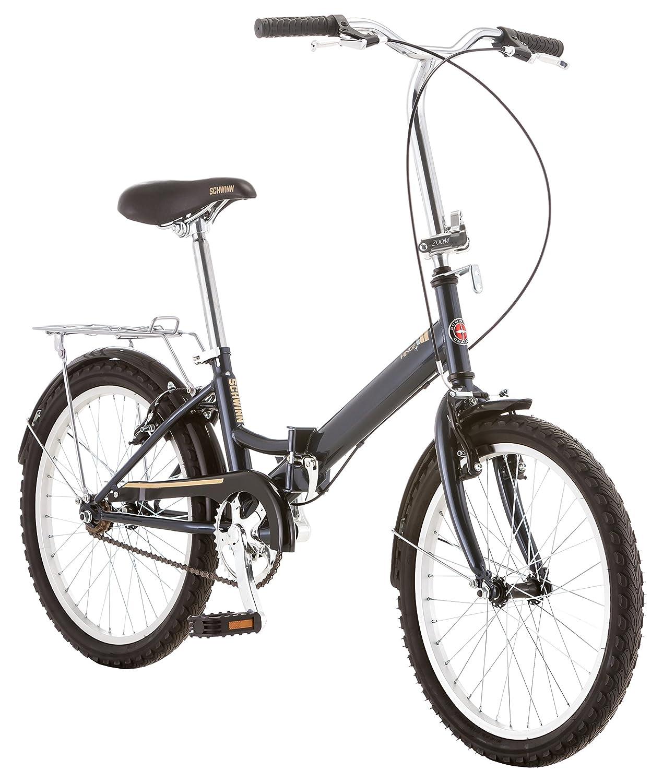 Schwinn 14 Hinge Folding Bike, 20-Inch/Medium, Grey   B00P470HIY