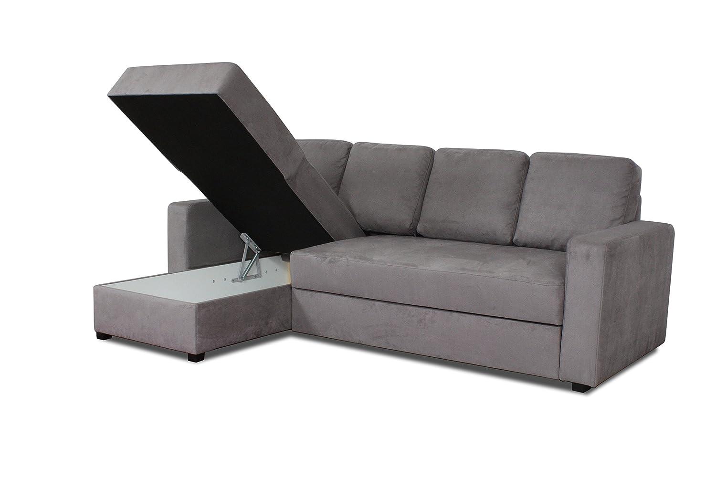 Relaxima Loft Canapé d\'angle Convertible Réversible avec Coffre De ...