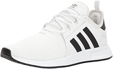 5dfa1128fa32 adidas Originals Mens X PLR Running Shoe Tint Black White