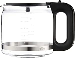 Braun Replacement Carafe Coffee Maker, 12-cup, Glass