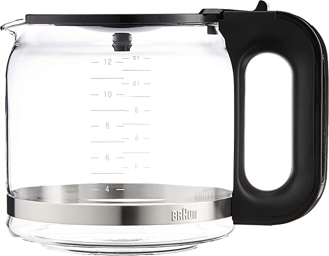 Marrón brsc 005 Jarra de cristal para cafetera: Amazon.es: Hogar