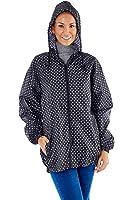 Womens ProClimate Wind Showerproof Jacket In Bag Ladies Hooded Pac A Mac Cagoule