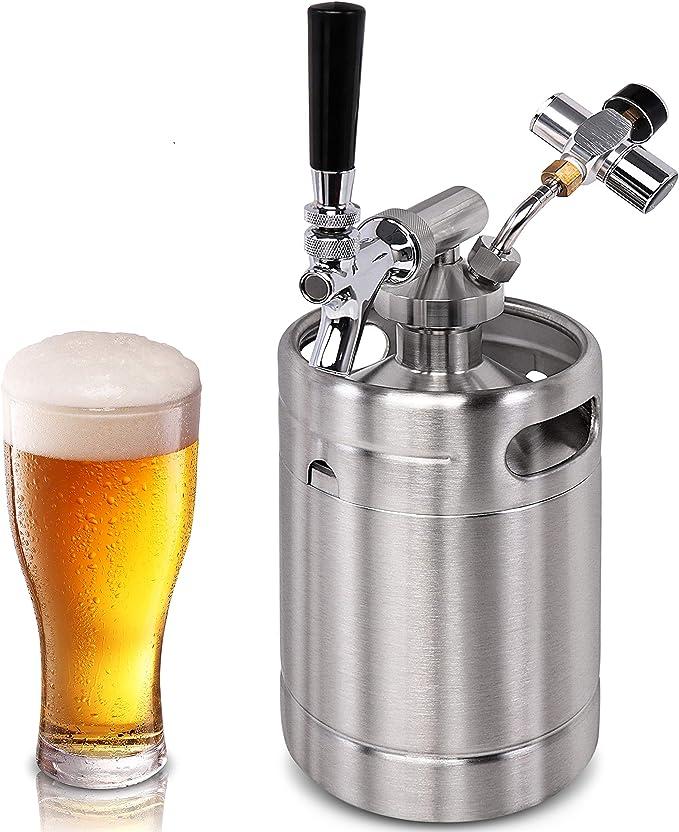 Brew Digital Probe Embedded Thermometer Fridge Freezer Keg Beer Tap Fishtank