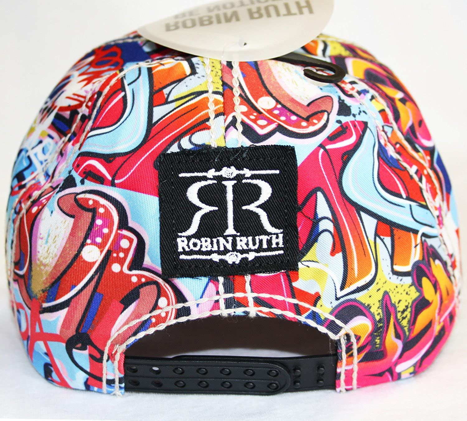 d6db1c2c41d Robin Ruth Canada Graffiti Baseball Cap Adjustable Hat  Amazon.ca  Clothing    Accessories