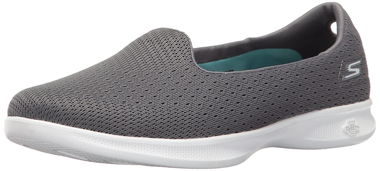 Skechers Performance Women's Go Step Lite Slip-on Walking Shoe B01IIBMWJO 8 B(M) US|Charcoal