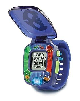 VTech PJ Masks - Catboy Learning Watch Niño/niña - Juegos educativos (Azul,